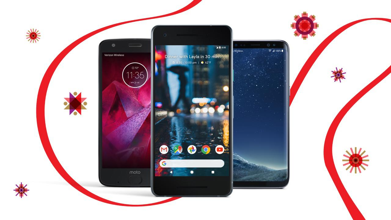 Get up to 50% off Google Pixel 2, Samsung Galaxy S8, Moto Z2 Force