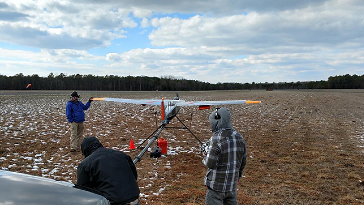 Drone pre-flight check