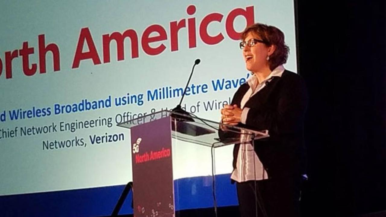 Verizon's Nicola Palmer: We set the 5G bar high with millimeter wave spectrum