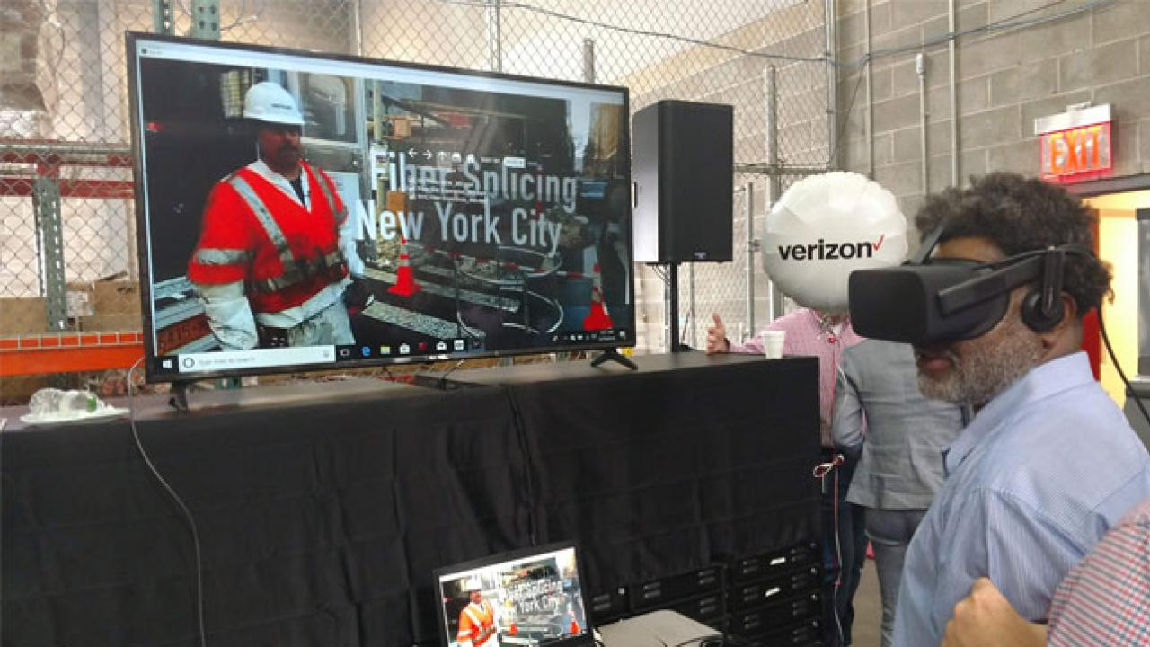 Verizon using Augmented Reality and Virtual Reality apps to train employees