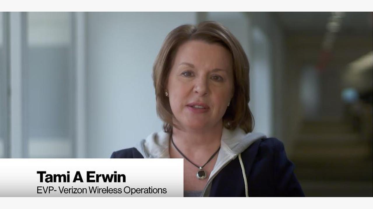 Tami Erwin, EVP Verizon Wireless Operations   Why our customers choose Verizon   Verizon