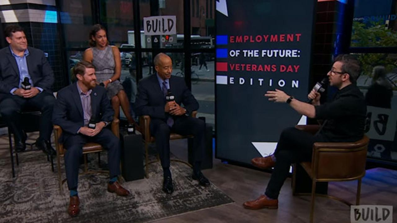 """Play Video Mike Mason, Jamal Othman, Jared Lyon & Darienne Page Talk About """"Employment Of The Future"""""""