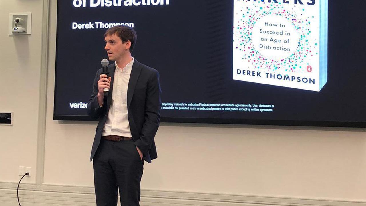 Atlantic Senior Editor Derek Thompson