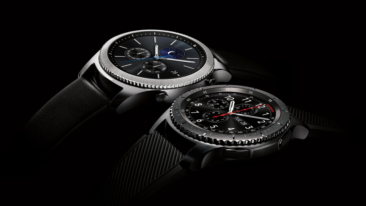 Samsung Gear S3 frontier and classic now available at