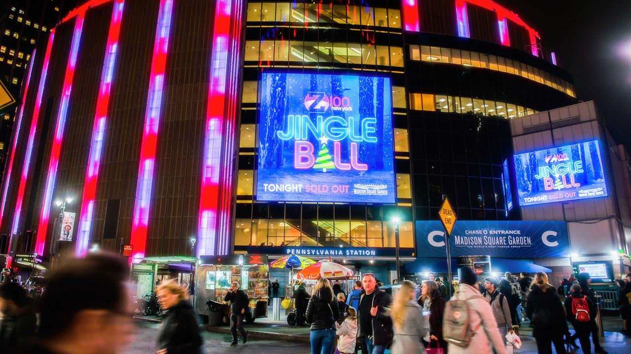 An unforgettable first time in new york city for two sisters about verizon for Jingle ball madison square garden