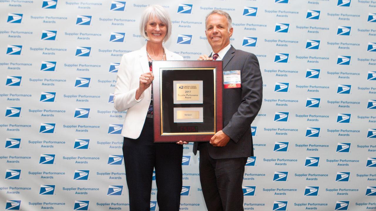 USPS Supplier Performance Award