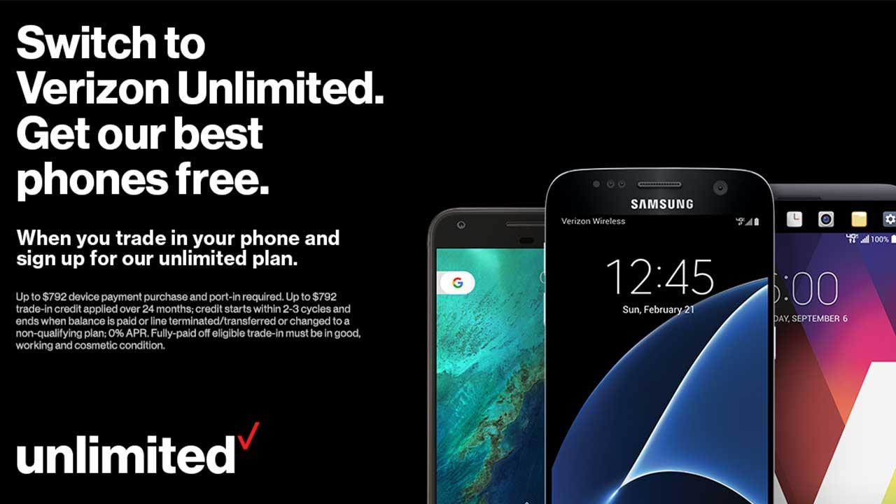 Verizon-Unlimited-Free-Phone-Offer
