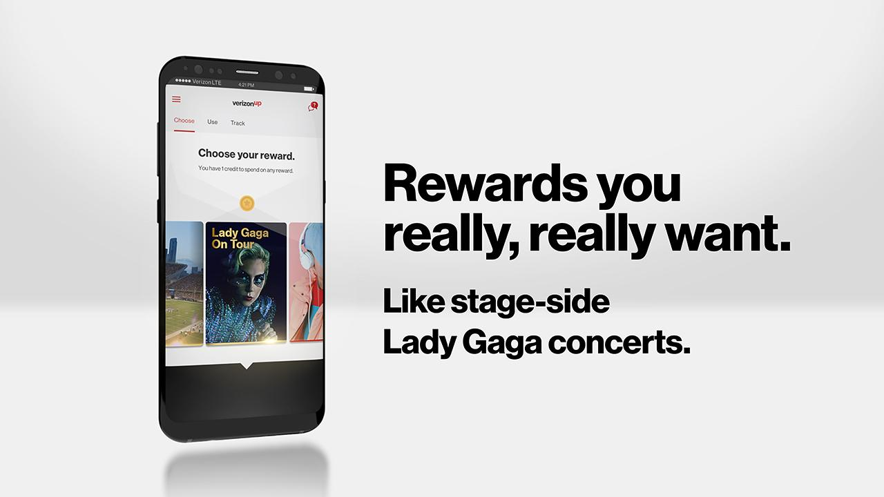 Verizon Up Rewards program