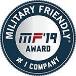 2019 Military Friendly #1 Company Award goes to Verizon