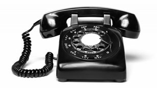 Introducing the classic rotary phone