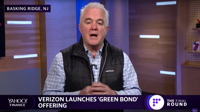 Verizon launches 'Green Bond' offering
