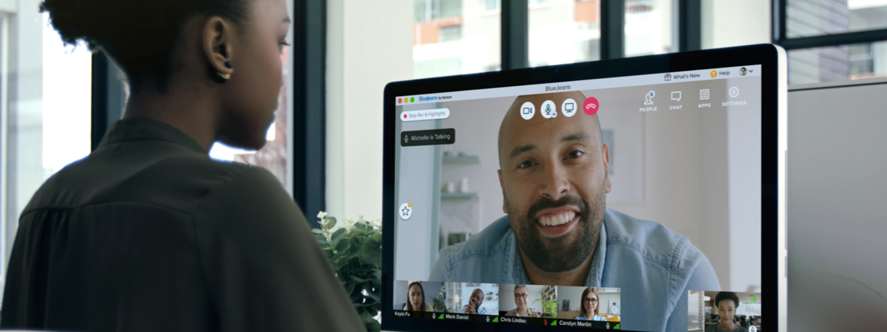 Virtual Meetings and Events Solution from BlueJeans