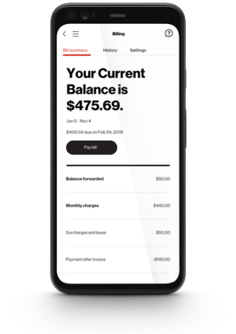 Verizon My Business App