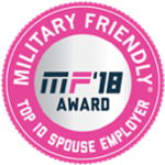 Military Friendly Top 10 Spouse Employer