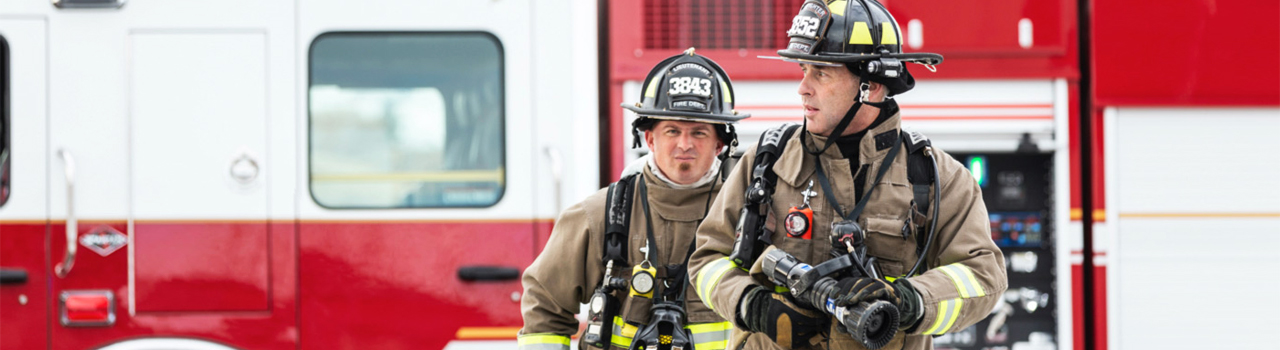 First responder firefighters