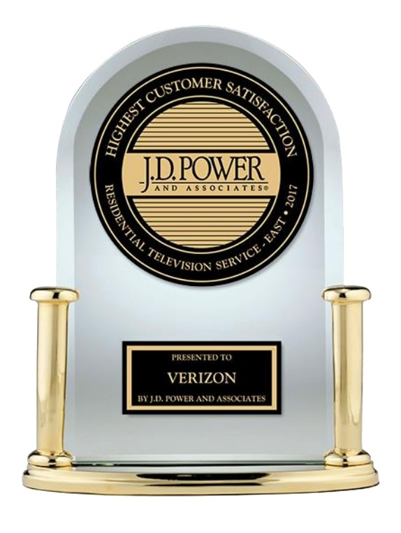 JD Power Verizon Award