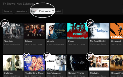 Películas gratuitas de Fios On Demand