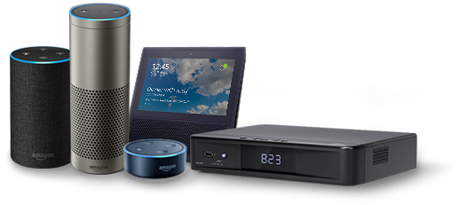 Bundle Alexa and DVR