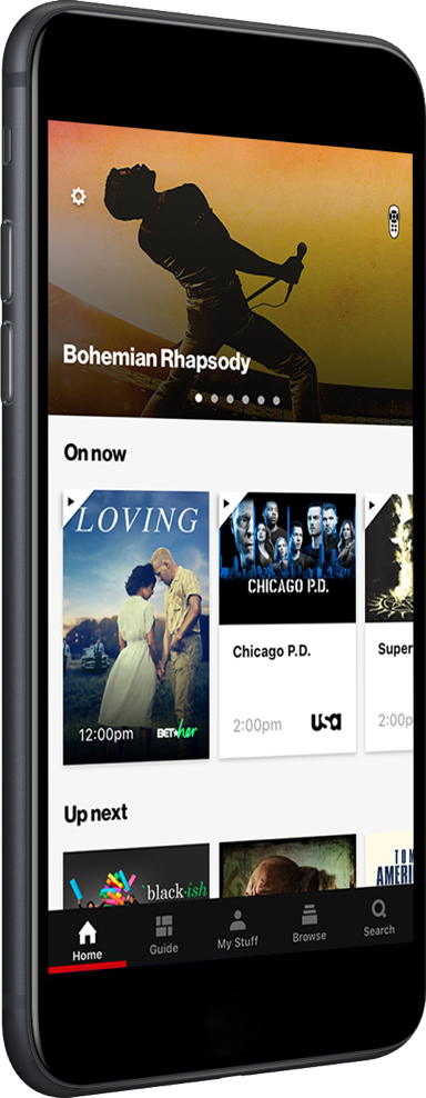 Watch all your favorite shows and movies using the Fios TV app on your mobile device.