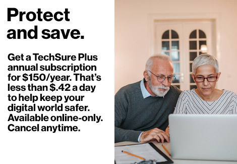 Protect and save with a TechSure Plus annual subscription.