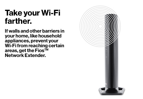 Take your Wi-Fi farther.