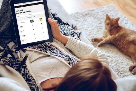 Elige los tipos de canales de TV que quieras mirar con el paqueteFiosCustomTV.
