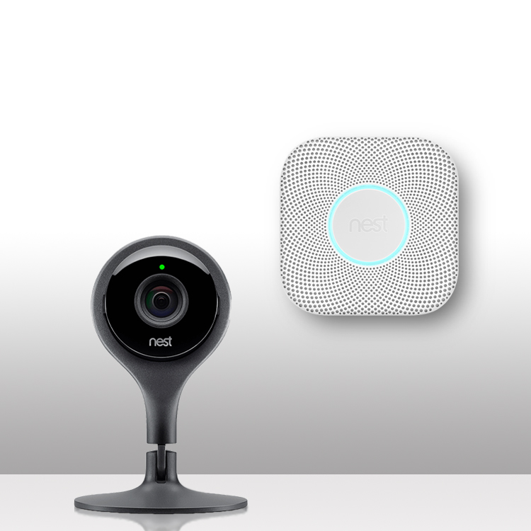 Smoke & CO detectors | Home security cameras