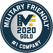 MILITARY FRIENDLY #1 COMPANY
