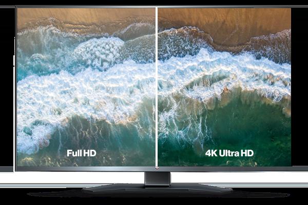 Streaming de TV en Full HD y 4K