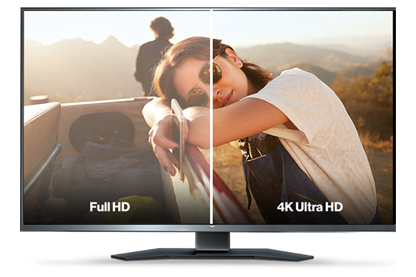 Full HD and 4K TV streaming