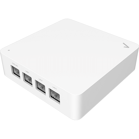 Back angle view of the MOCA Ethernet Adapter