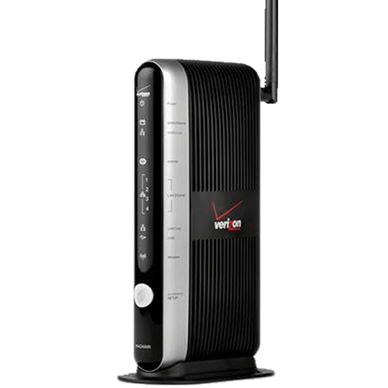 Product view of Fios Broadband Home Router
