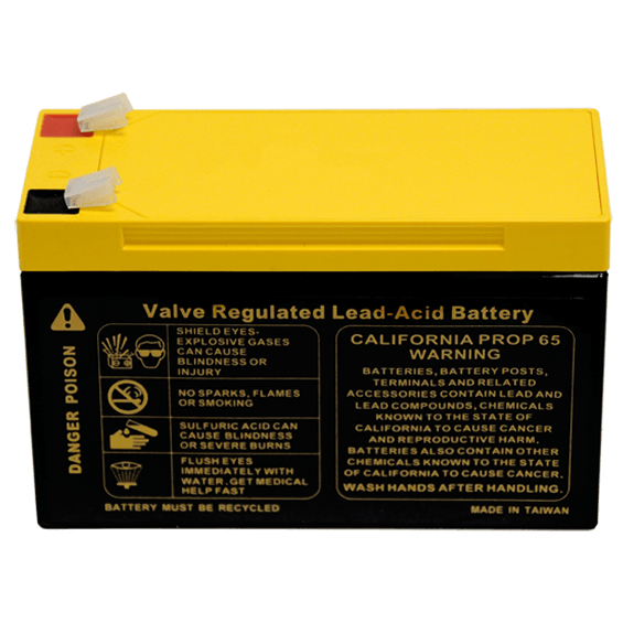 Fios Voice Backup Battery - Back View