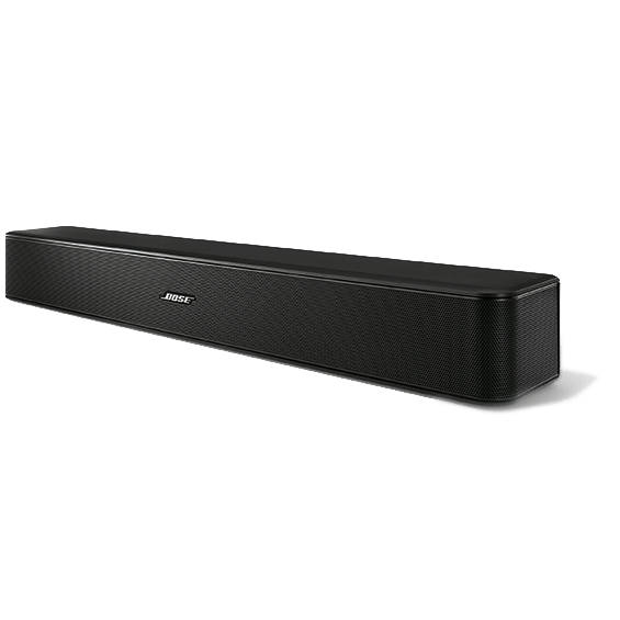 Bose Solo 5 TV Sound System front angle left view