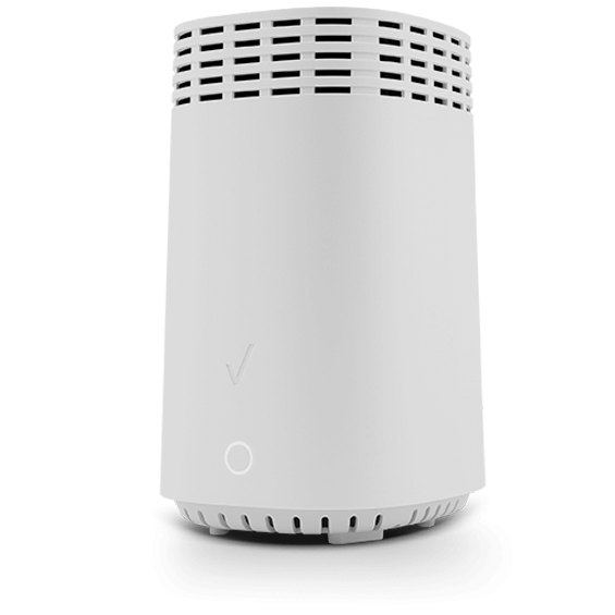 Fios WiFi extender product image - front quarter view