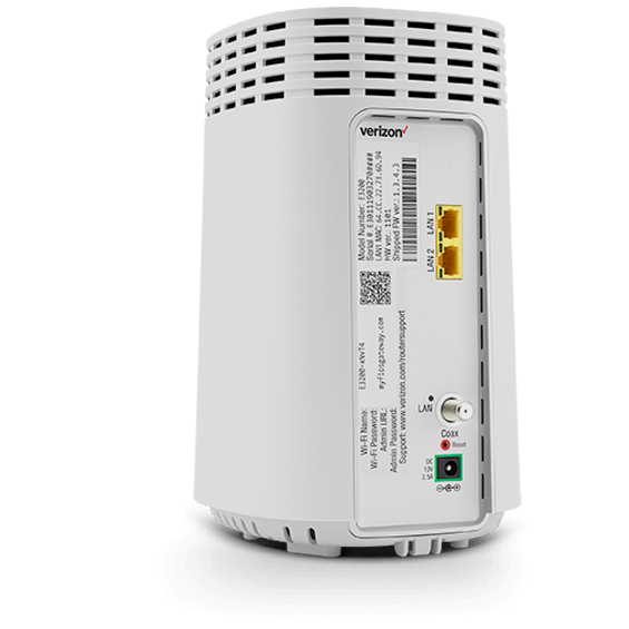 Fios WiFi extender product image - back quarter view