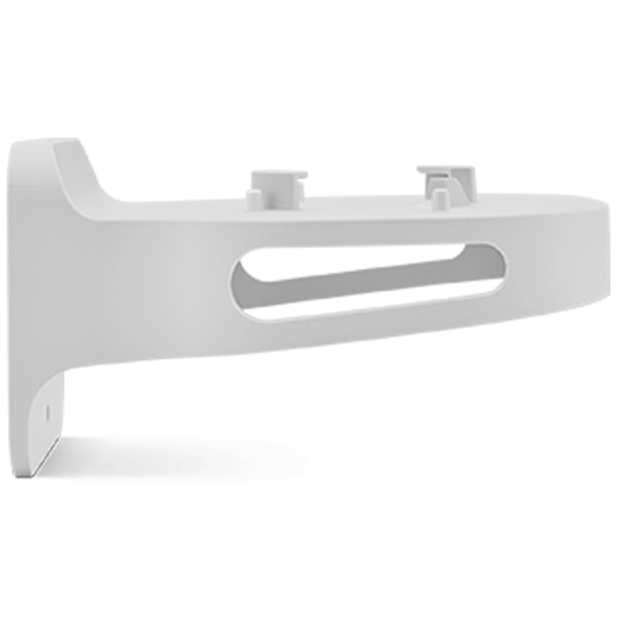 Fios router wall bracket product image - left side view