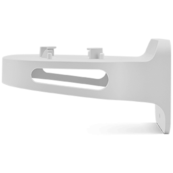 Fios router wall bracket product image - right side view