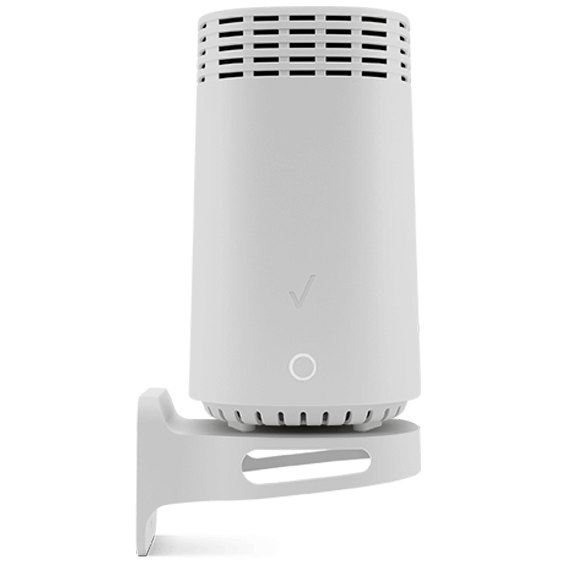 Fios router product image - front view with wall bracket