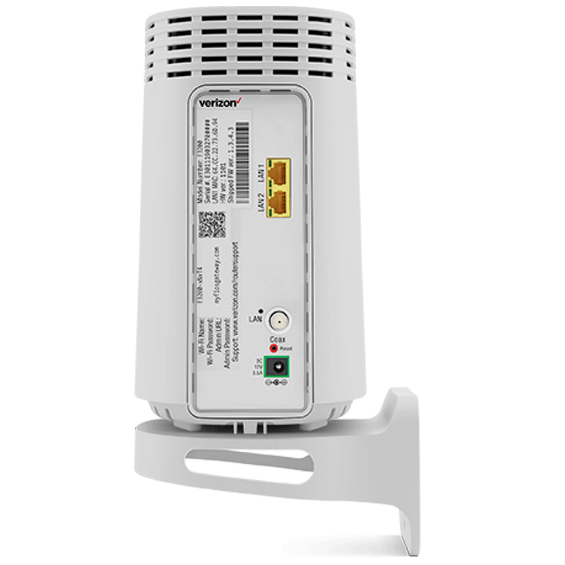 Fios WiFi extender product image - back view with wall bracket