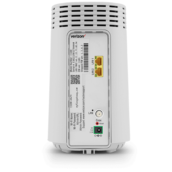 Fios WiFi extender product image - back view