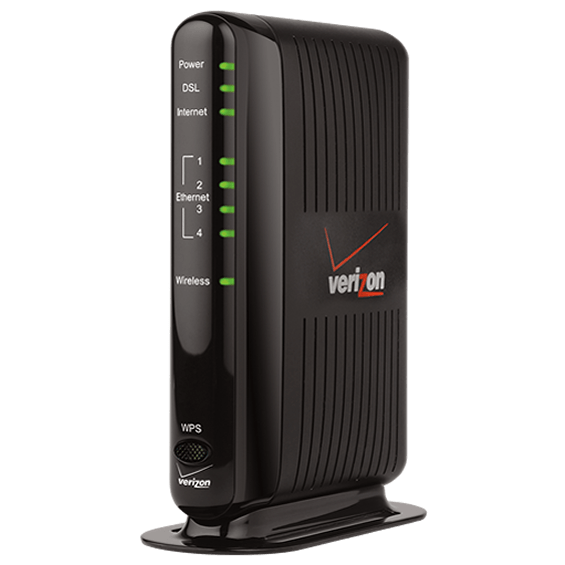 Verizon High Speed Wi-Fi Gateway - Front View