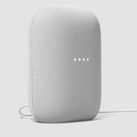 Foto de un dispositivo Google Nest Audio