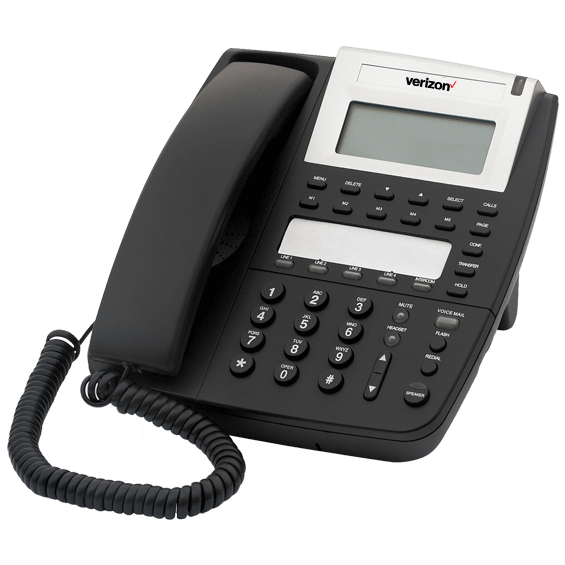 Product view of 4 Line Telephone System