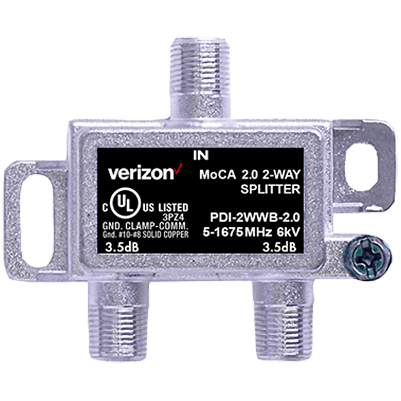 Product view of 2-Way Coax Splitter