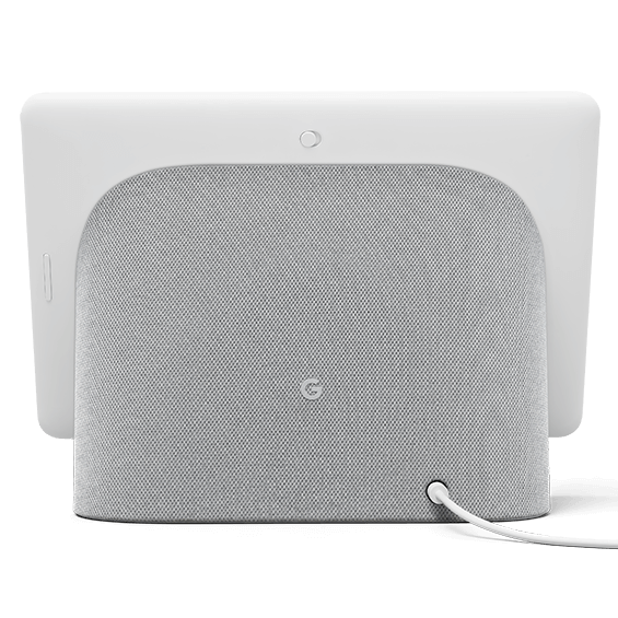 Chalk Google Nest Hub Max product image back view