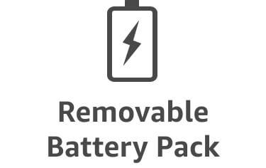 Ícono de batería de rápida apertura