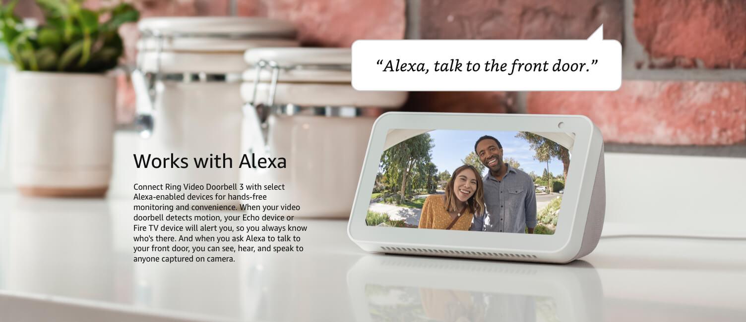 Funciona con Alexa