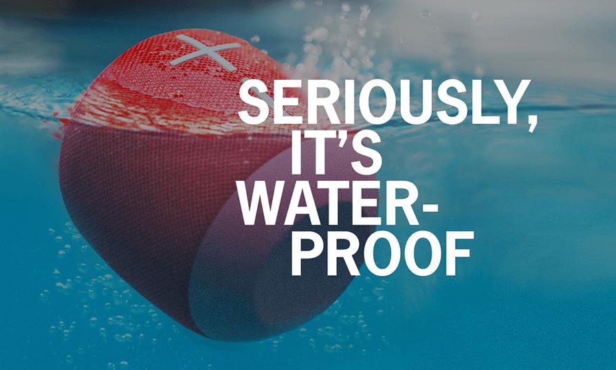 De verdad, resiste el agua