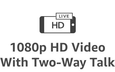 Ícono de videoHD1080 con comunicación de dos vías